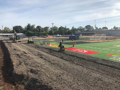 DHS track excavation begins
