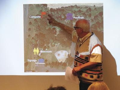 Gentle Woods proposed campground