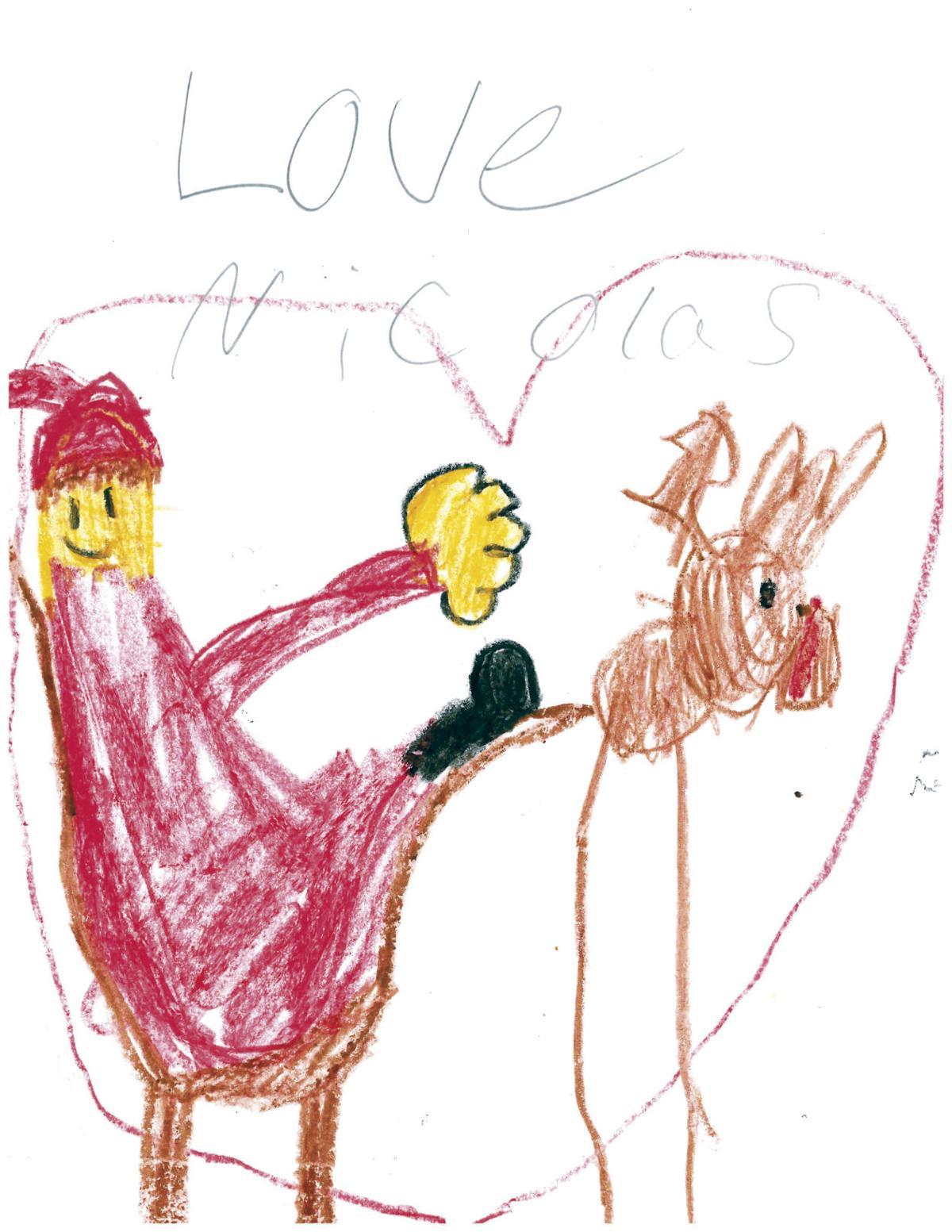 e32f9e15581 Dear Santa  Children share hopes