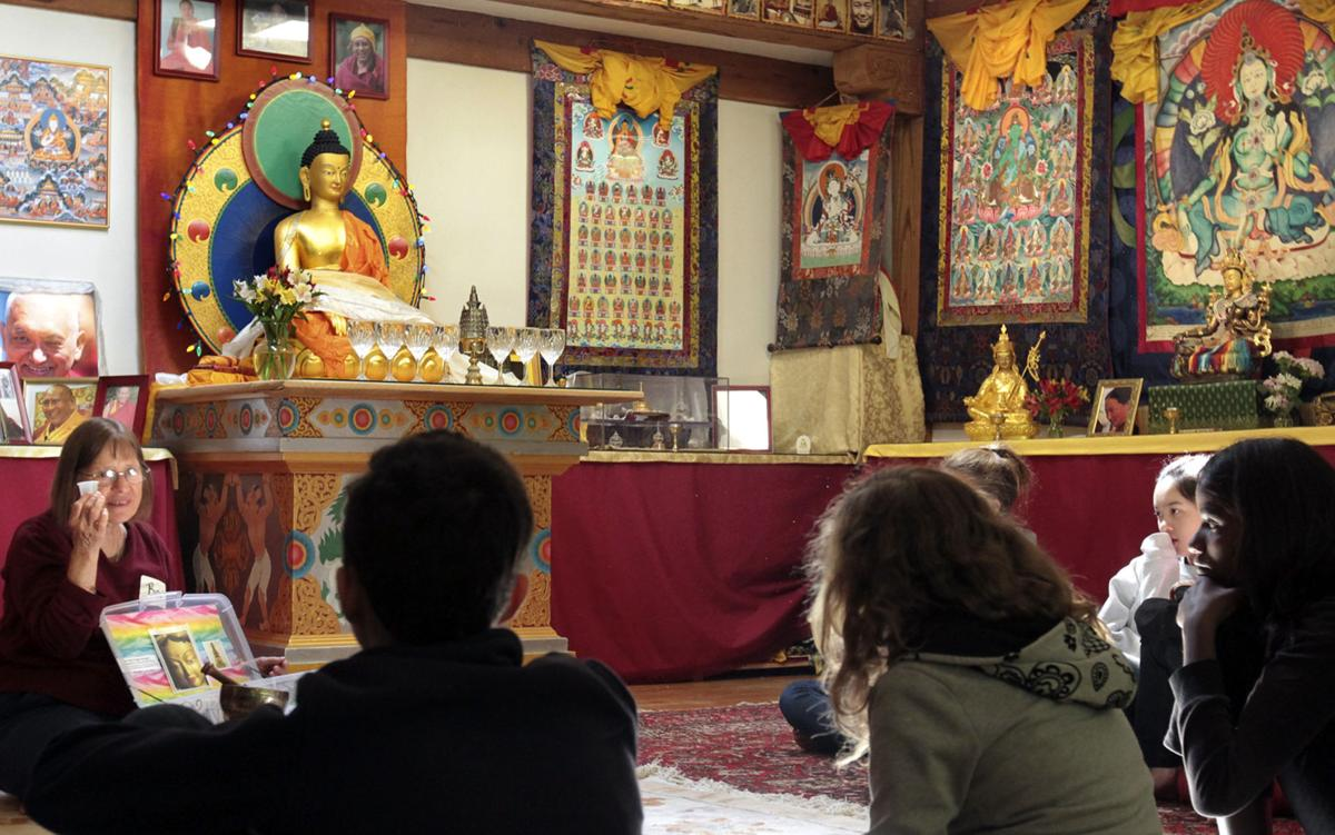 Enlightenment for kids Three-day Family Camp retreat teaches the basic tenets of Buddhism