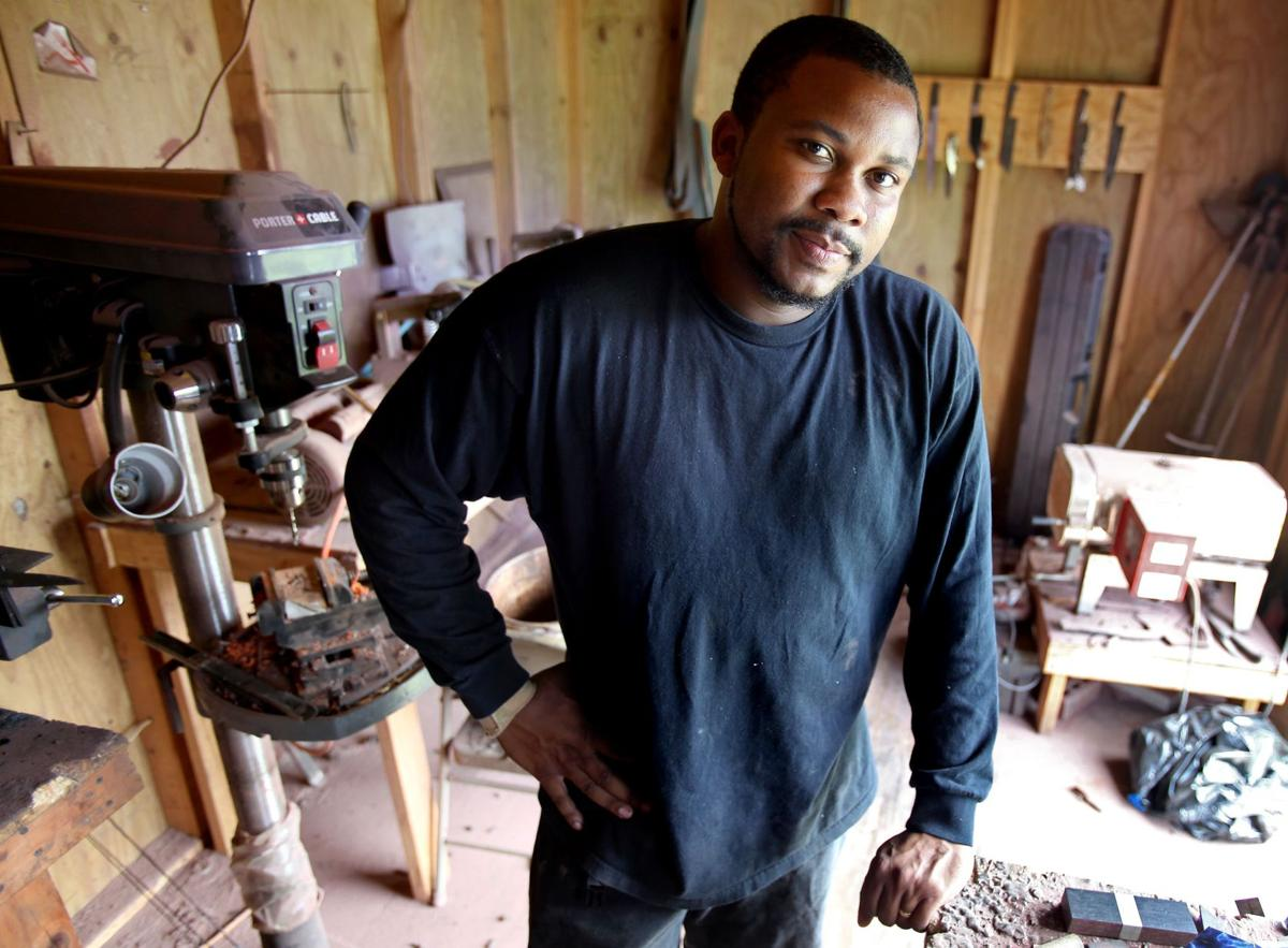 Lowcountry's rising star bladesmith Berkeley knifemaker hopes chefs turn to him for an edge