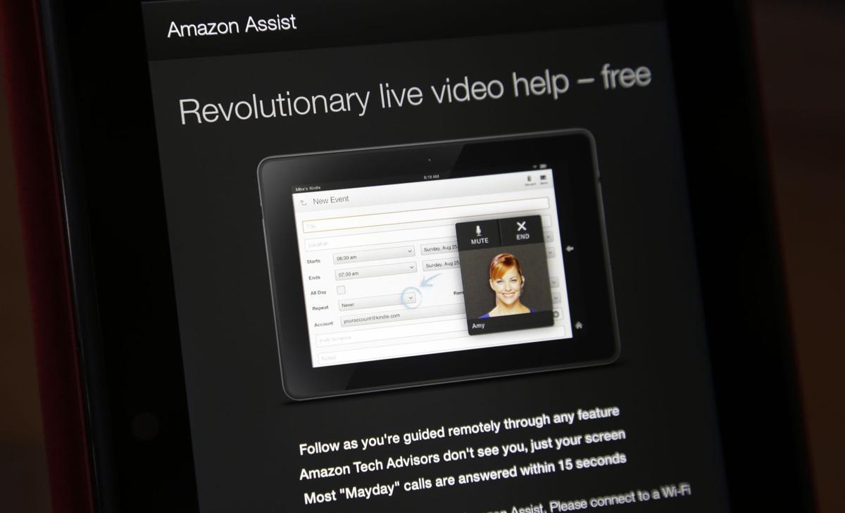 Amazon unveils Kindle Fire HDX with 24/7 live help