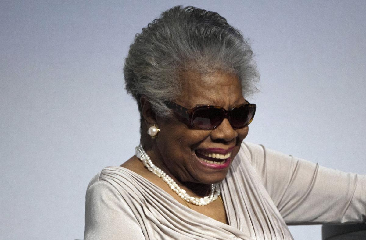 Q&A with Maya Angelou, 83, author, activist