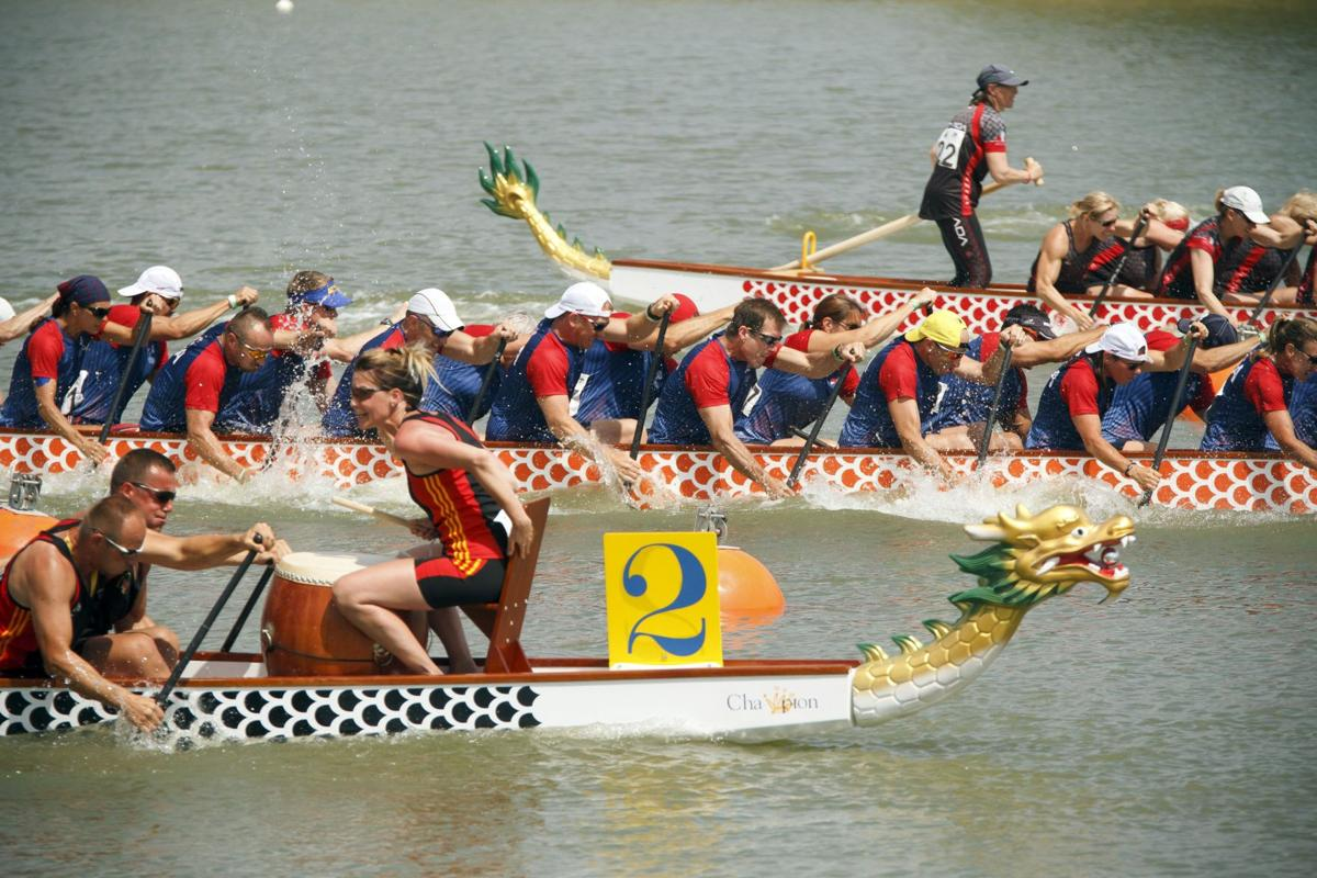 Sullivan's Island doctor strikes gold in Dragon Boat World Championships