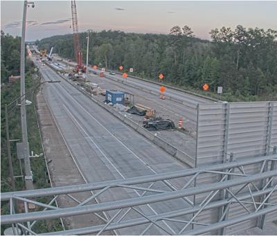 Interstate 20 work