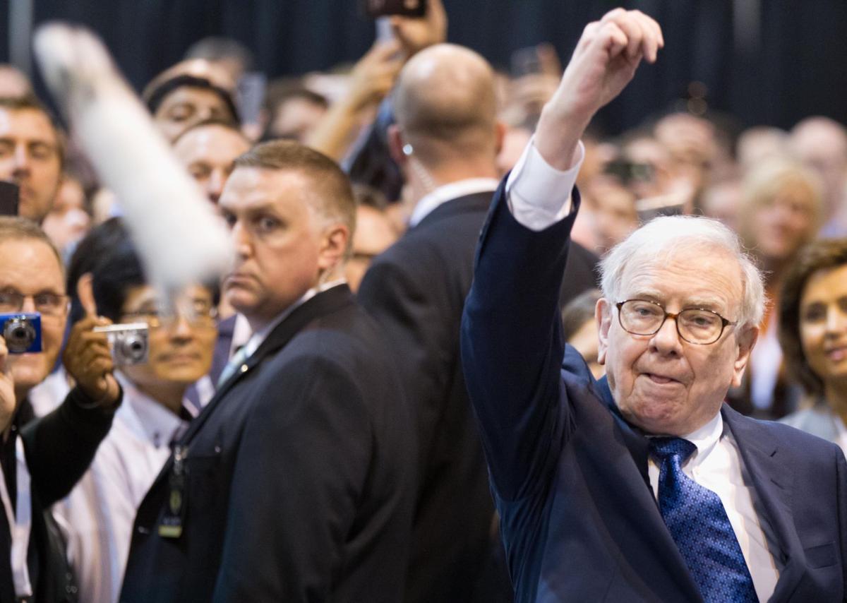 Shareholders trust Buffett on health
