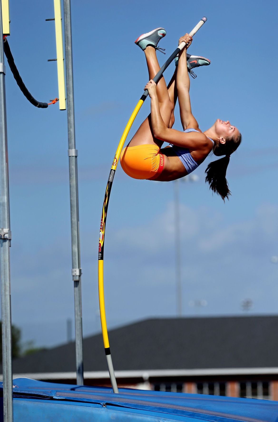 Hectic weekend ahead for James Island pole vaulter
