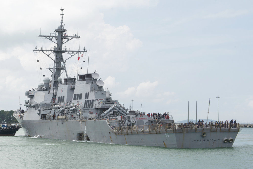 Reports say Navy to relieve 7th Fleet commander after deadly collisions