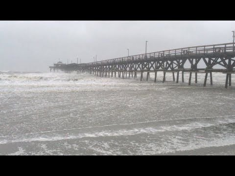 Hurricane Florence hits Grand Strand | Post and Courier