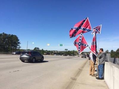 Confederate flags Summerville