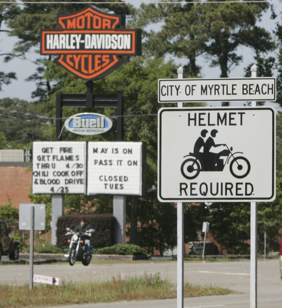 Controversial motorcycle helmet bill filed