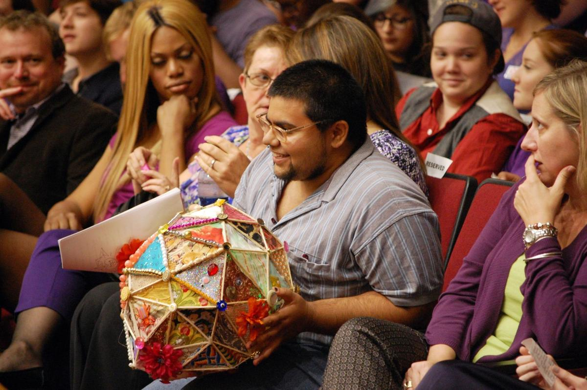 """""""Orange Is the New Black"""" star a hit at Spirit Day Rally at College of Charleston"""