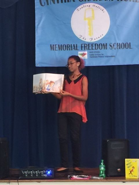 Students learn love of reading through Freedom School