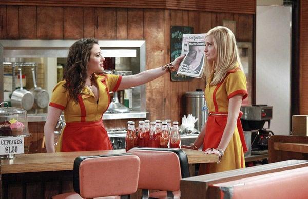 2 budding stars going for broke on new CBS sitcom