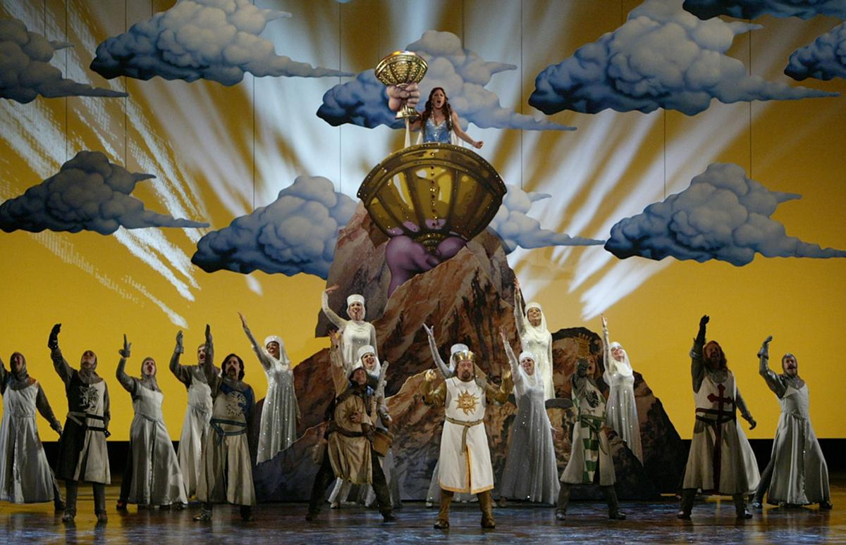 'Spamalot' The Village Repertory Co. goes for Pythonesque silliness