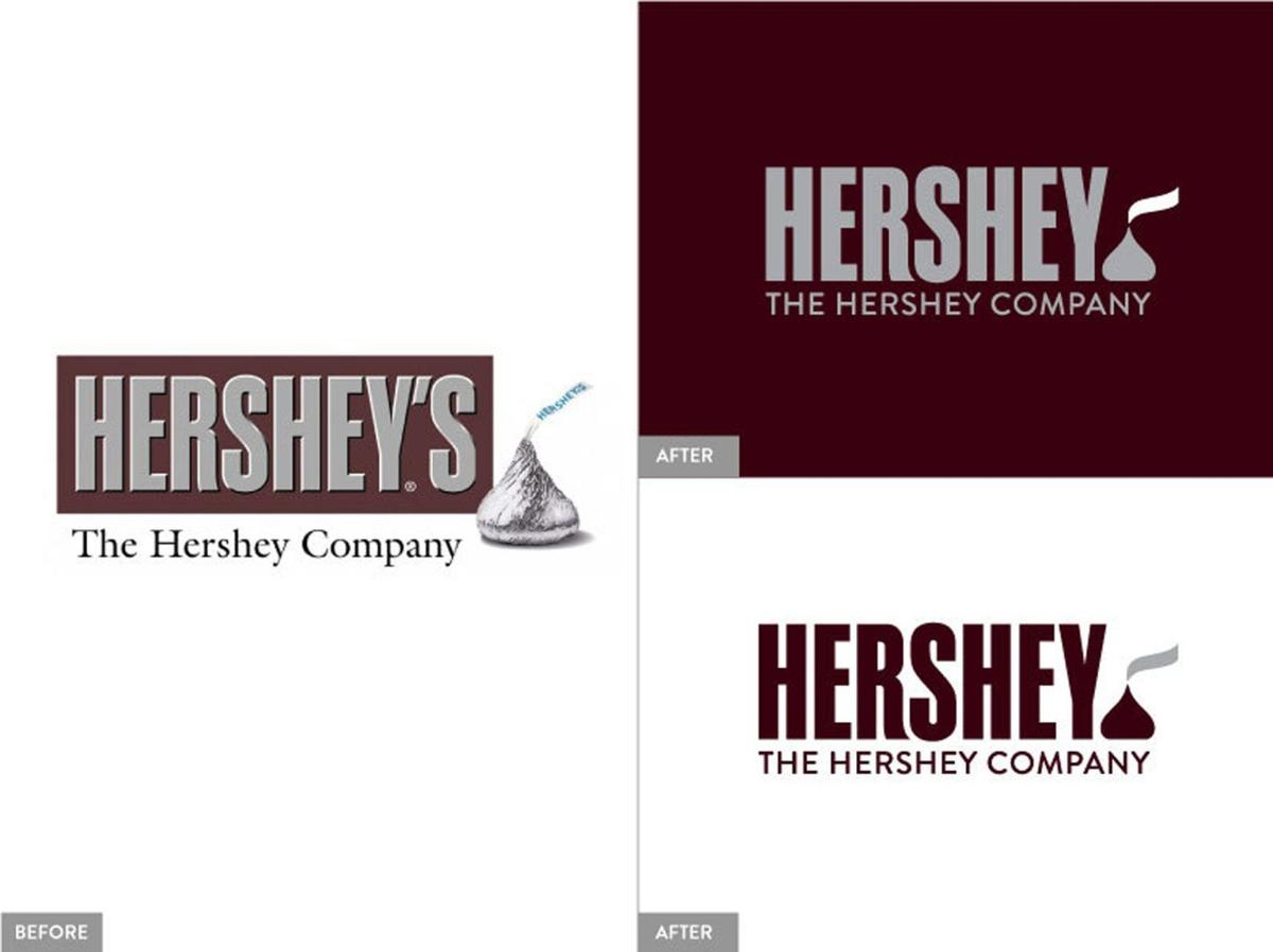 Hershey takes wraps off new corporate logo