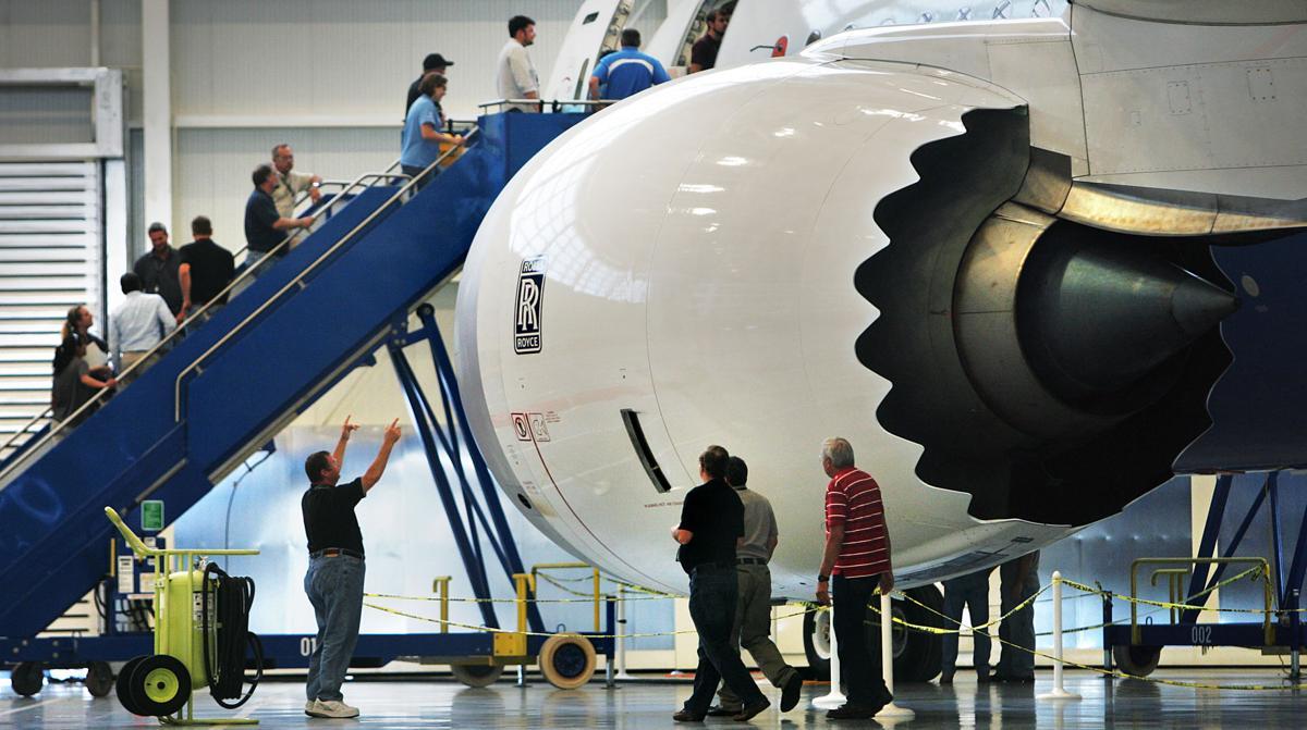 Praise for Boeing plant