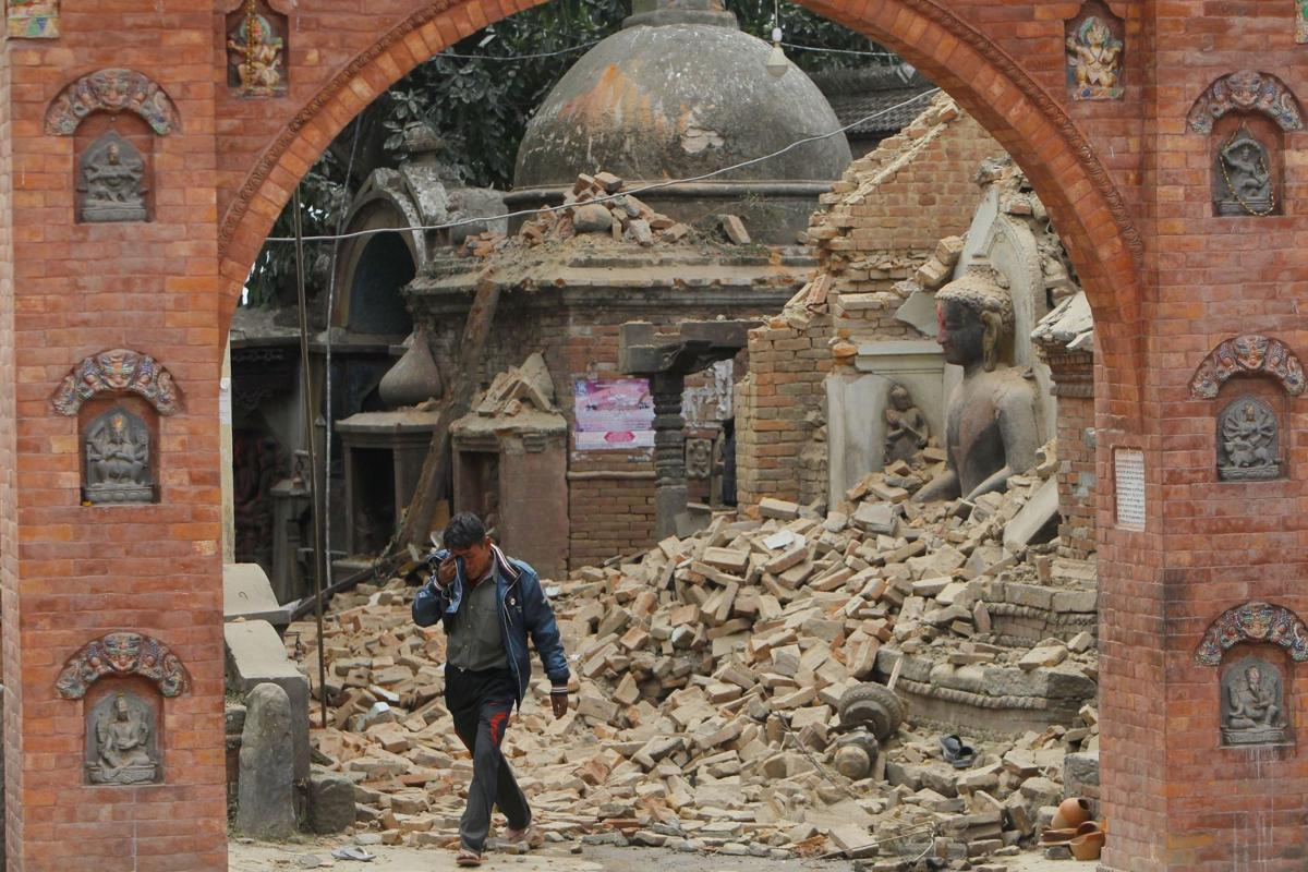 Devastated villages in Nepal await rescuers