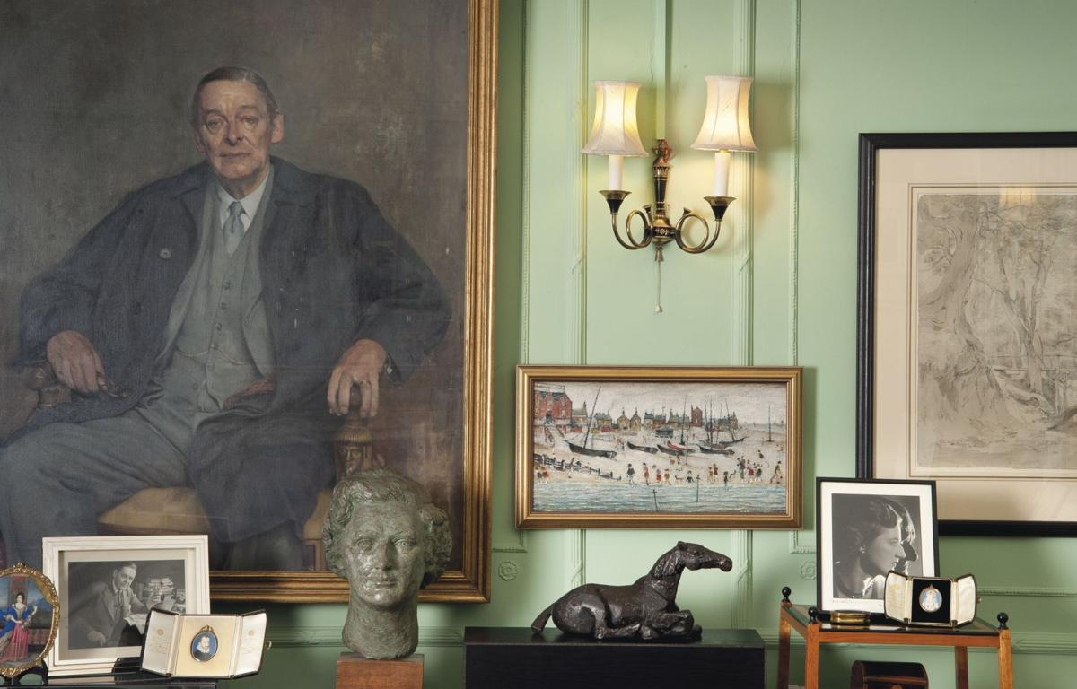 Art owned by Eliot's widow on sale
