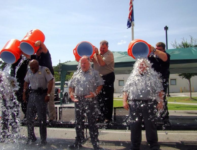 Charleston County Sheriff's Office takes the ALS Ice Bucket Challenge