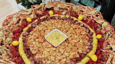 Britt Bratt's Garlic Crabs