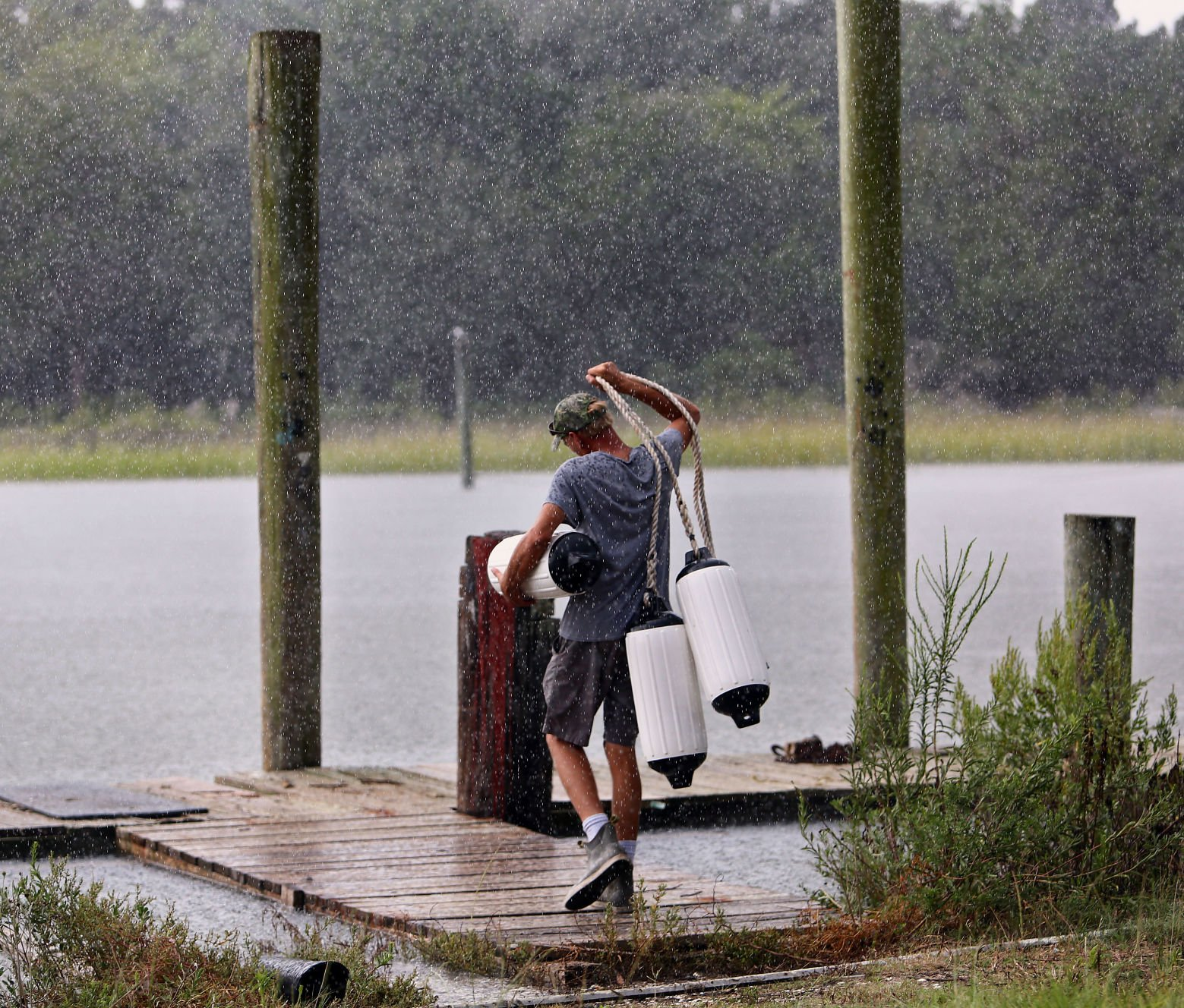 fenders McClellenville Hurricane Florence.jpg | Post and Courier