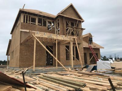 New home in Carnes Crossroads