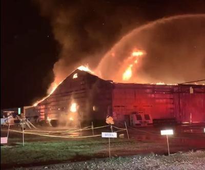 Dorchester County boat facility fire