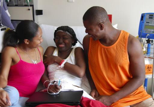 Sisters share a battle against leukemia