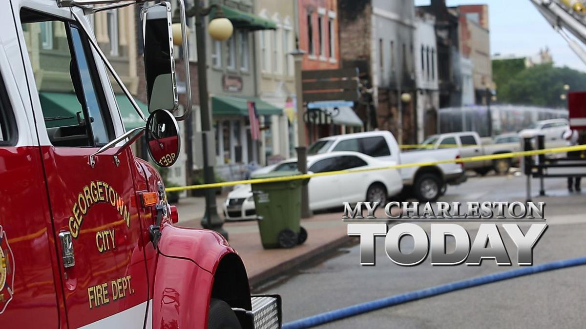 My Charleston Today: Aftermath of the Georgetown fire, plus a look at the fall movie preview