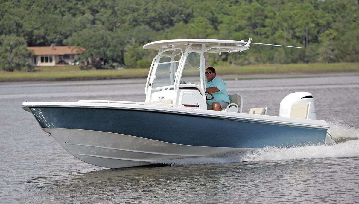 Water mark Everglades boatmaker puts face on new 24-foot