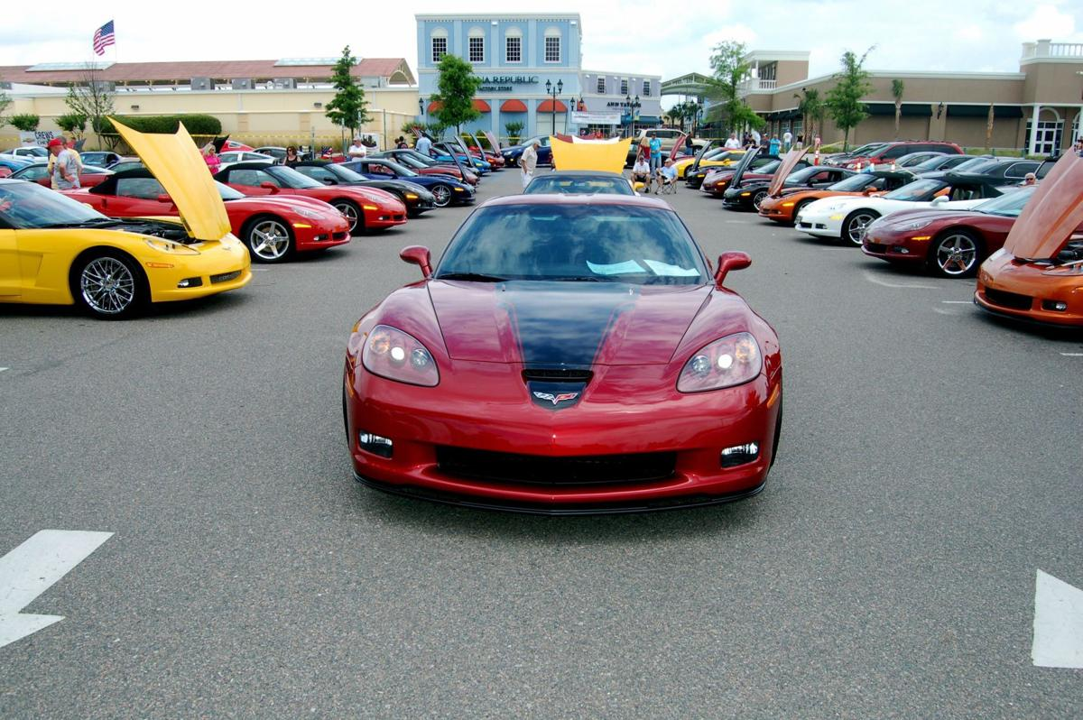 All-Corvette show draws big crowd, out-of-town club support on cloudy day