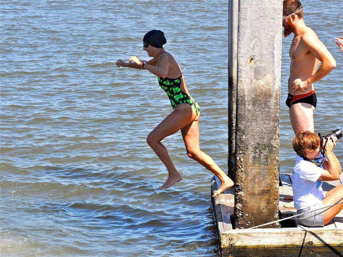 Swim Around Charleston