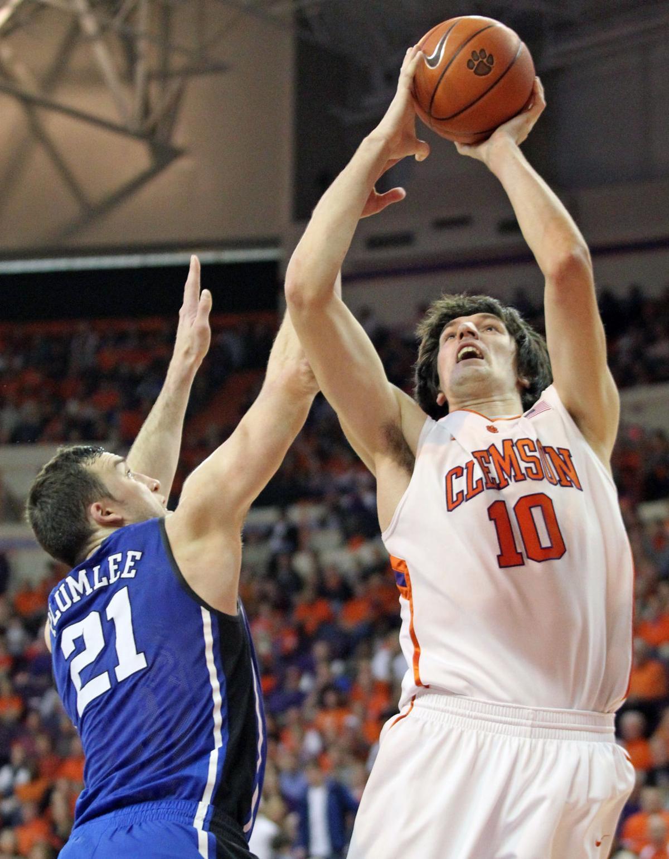 Duke at Clemson Basketball