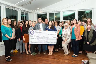 Junior Service League donates to Public Works Art Center