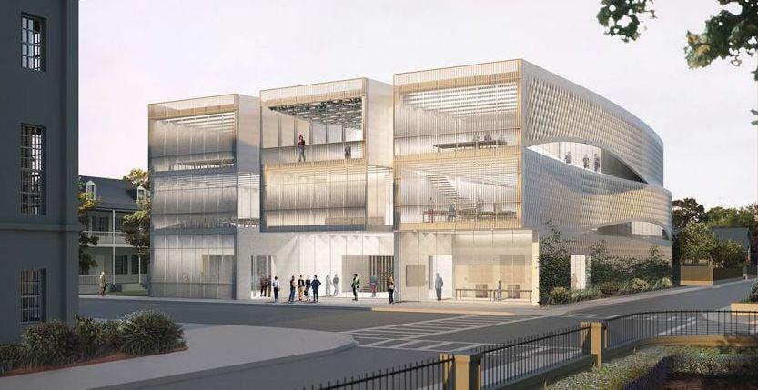 Architecture center design sure to stir the pot