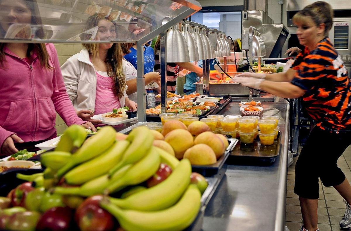 Military needs students who eat healthier
