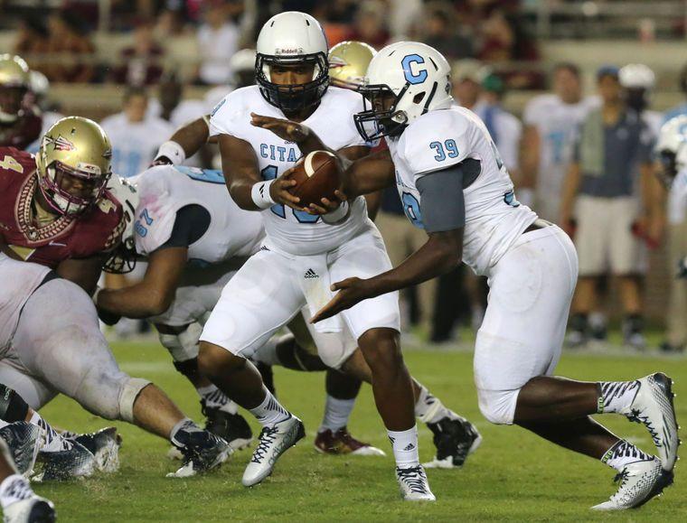 Citadel begins spring football with question at quarterback