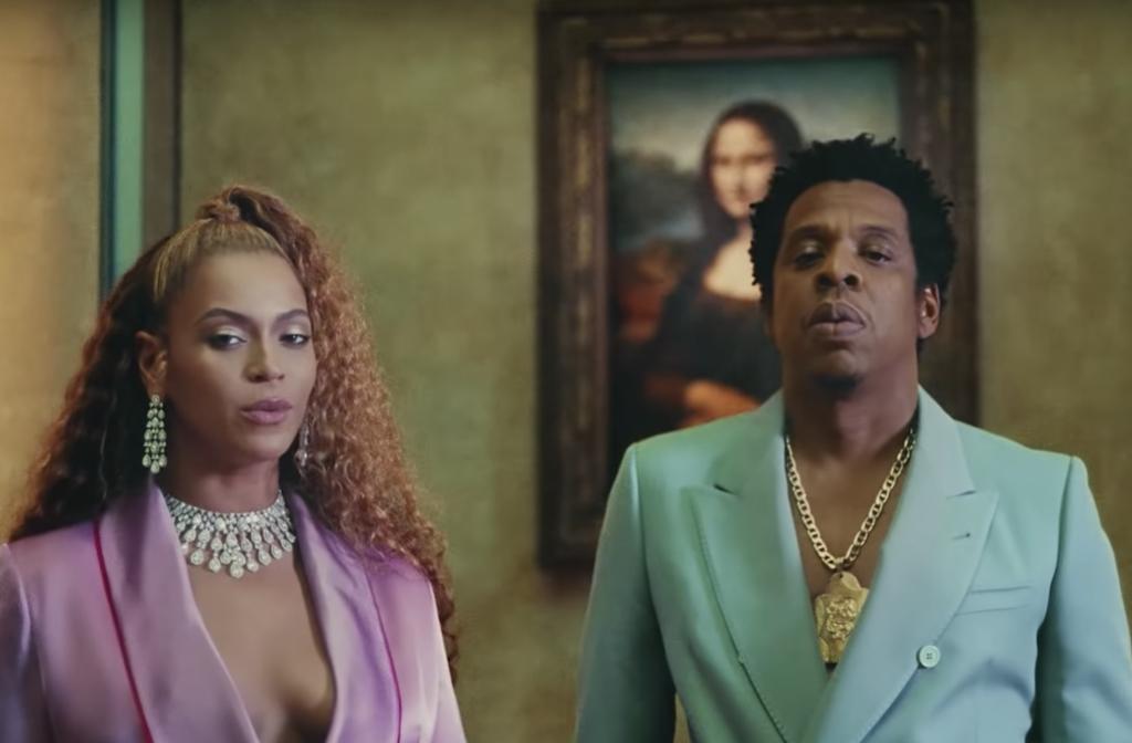 Apeshit screenshot Beyonce Jay-Z
