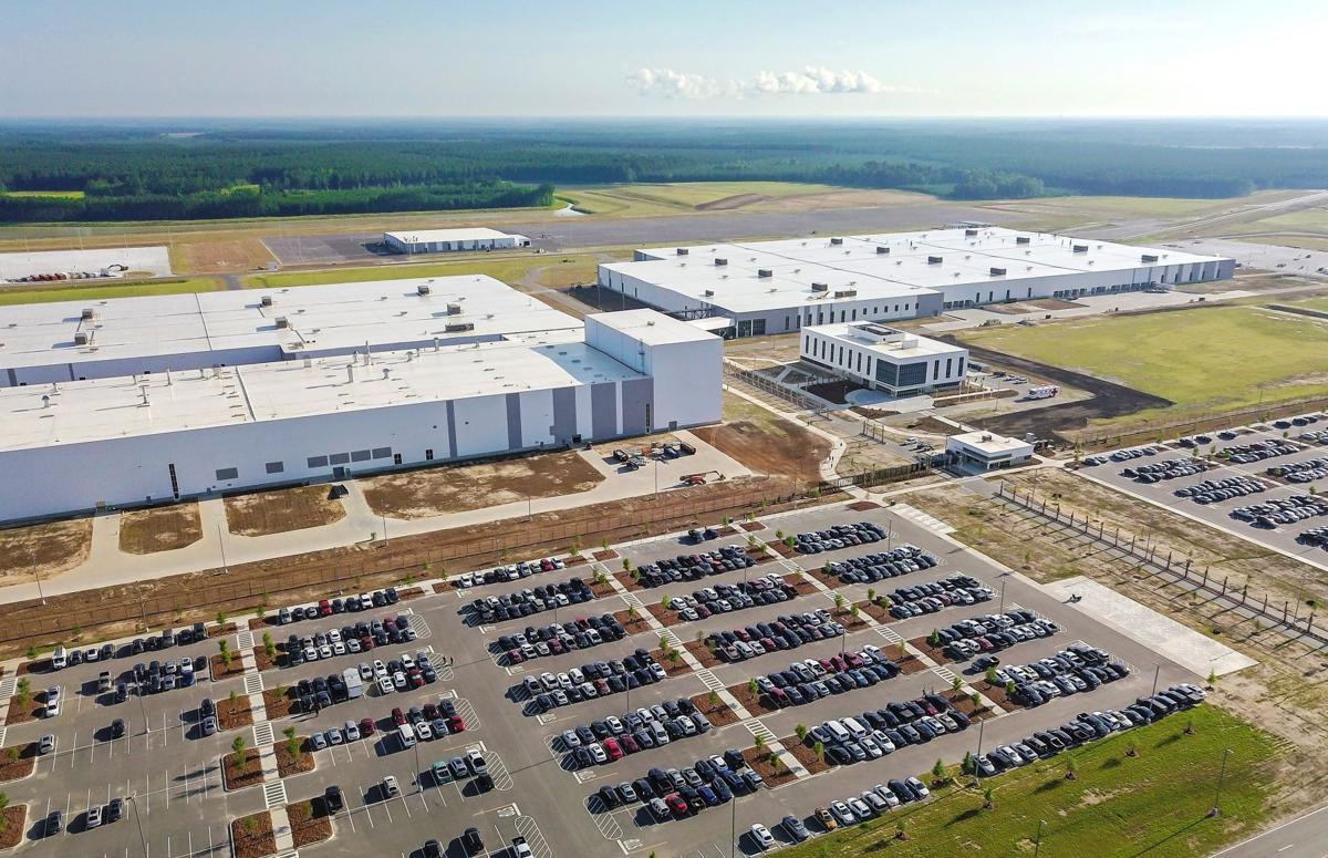 Volvo Cars plant aerial