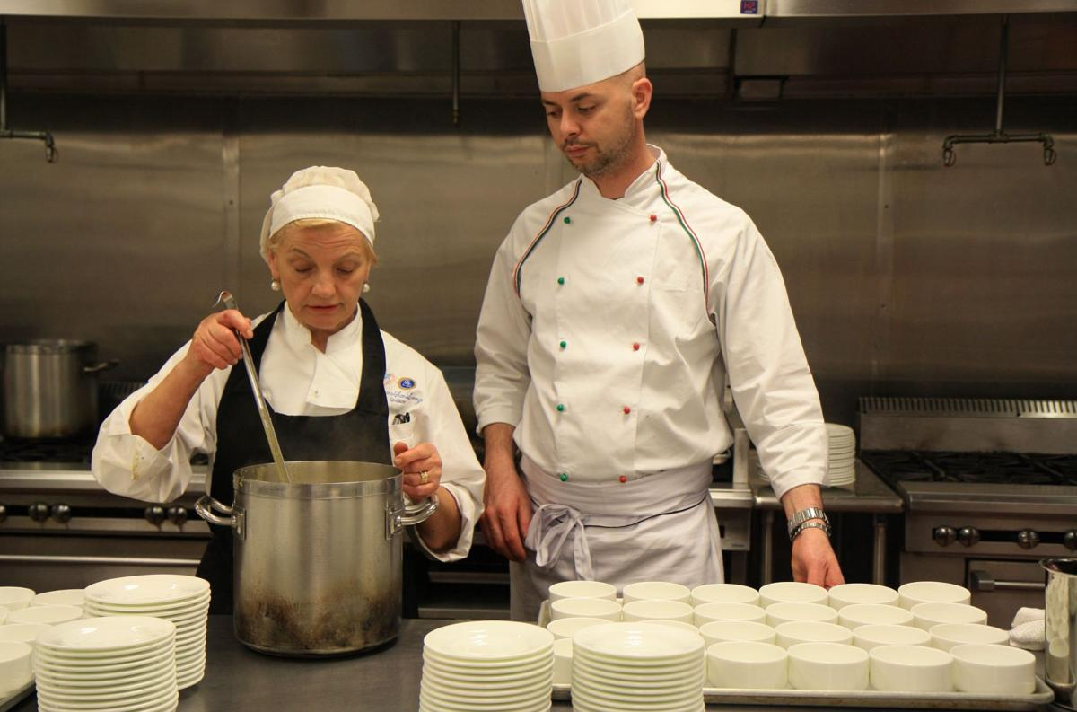 Students team up with Italian chefs