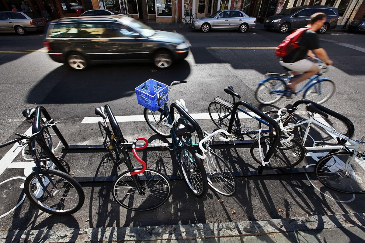 Charleston police to begin enforcing new bicycle parking ordinance on Nov. 15
