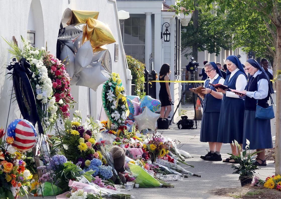 VIDEO: Charleston mourns the victims at Emanuel AME