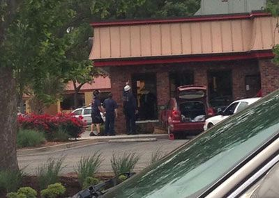 Vehicle crashes into Wendy's restaurant in Mount Pleasant