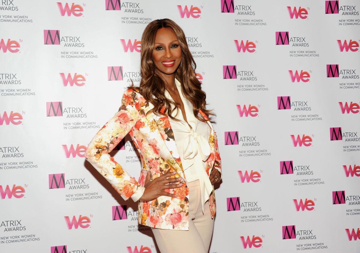 Supermodel Iman becomes spokeswoman for diversity