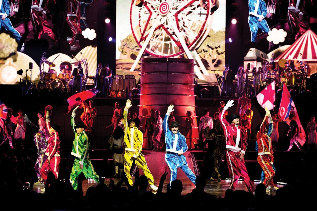 Michael Jackson's music comes alive with the help of Cirque du Soleil