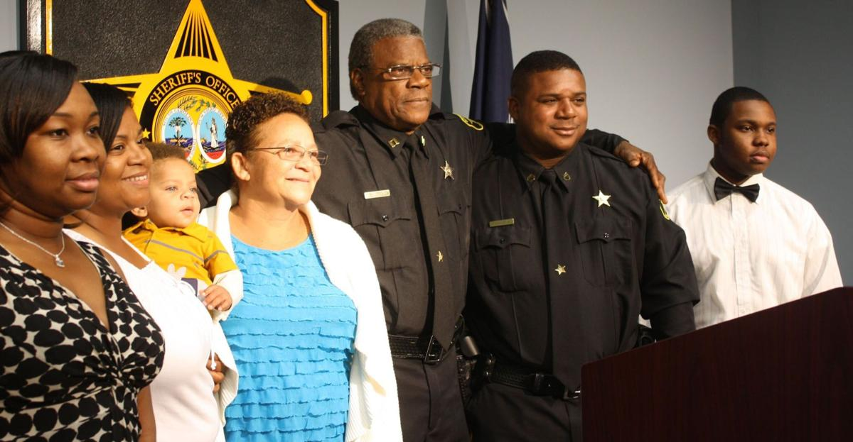 One of Sumter's first black deputies retires