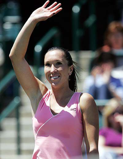 Jankovic opens her defense with a win