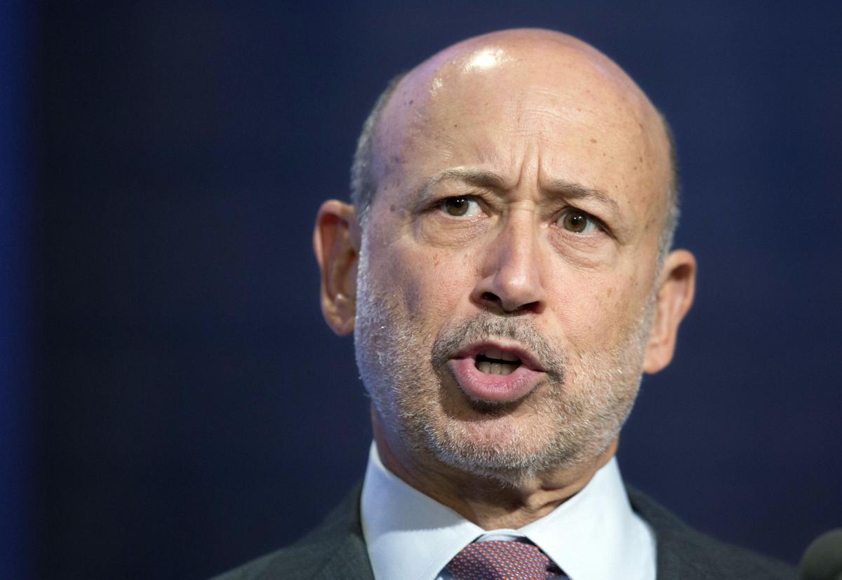 Goldman Sachs CEO Blankfein says he has lymphoma