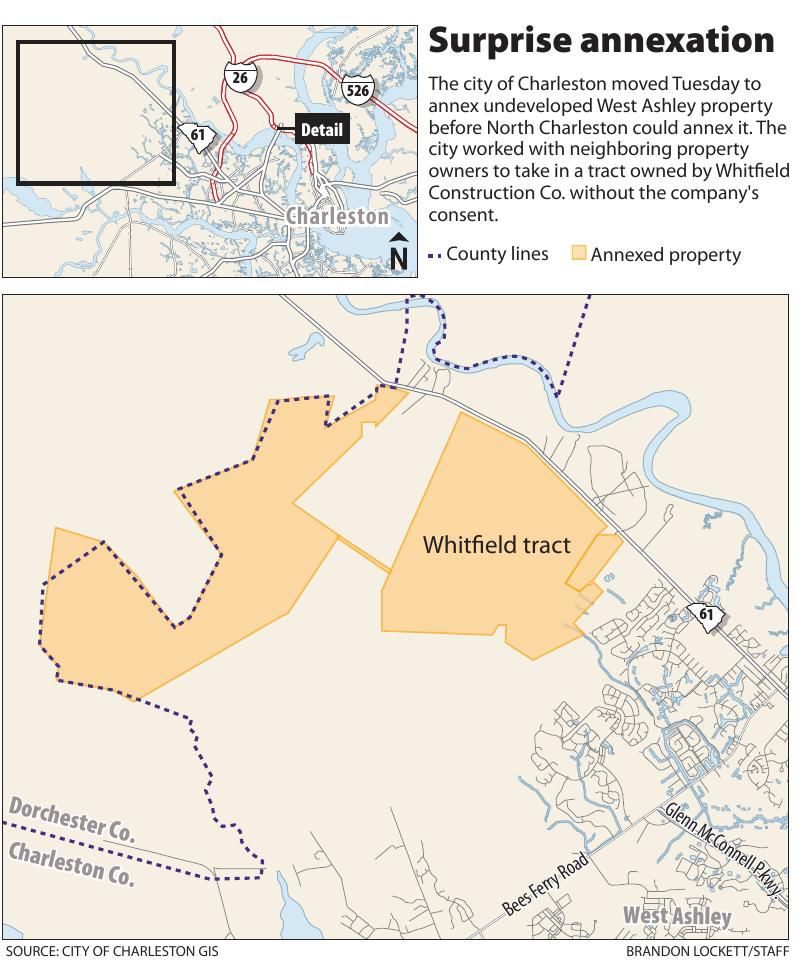 Whitfield annexation